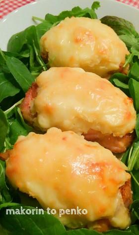 鶏もも肉のポテトチーズ焼き*あと出しご飯