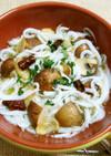 白魚とマッシュルームのアヒージョ