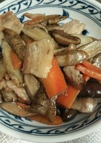 甘辛炒め煮 肉豆腐も