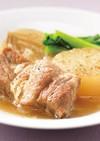 大根と玉ねぎ、豚カタロースの中華風煮込み