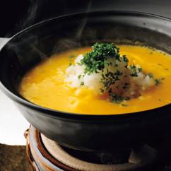 かぼちゃスープごはん