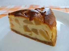 *りんごたっぷりチーズケーキ*