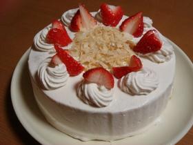 紅茶とりんごのショートケーキ