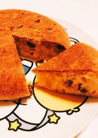 HM&炊飯器☆薩摩芋とレーズンのケーキ♡