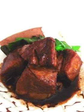 豚バラ肉の八丁味噌角煮