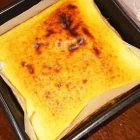 糖質制限☆スライスチーズでおからケーキ