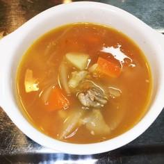 香港家庭料理蕃茄薯仔湯♡トマトイモスープ
