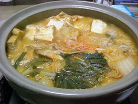 ☆味噌キムチ鍋☆