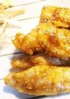鶏むね肉の甘辛焼き☆手羽先風