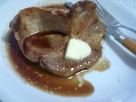 簡単プロの味☆にんにくバター醤油ステーキ