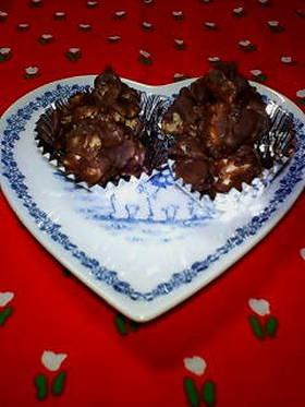 バレンタイン♥マシュマロ&コーンチョコ♥