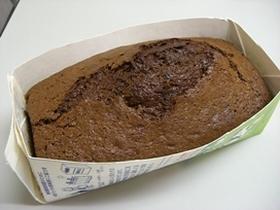 手早く簡単チョコレートパウンドケーキ
