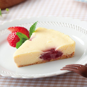 イチゴのチーズケーキ