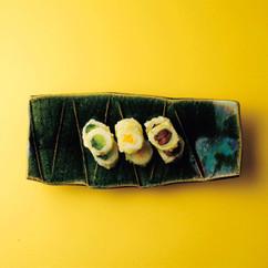 白菜巻き三種