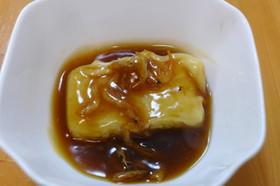 桜海老のあんかけ・餅