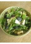 ピータン豆腐風サラダ