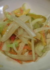 白菜とキンカンのサッパリポン酢サラダ