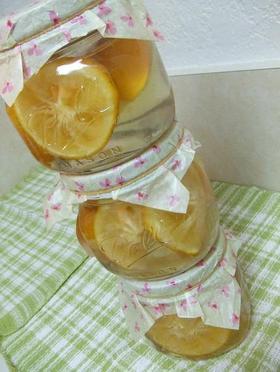 柚子のシロップ漬け