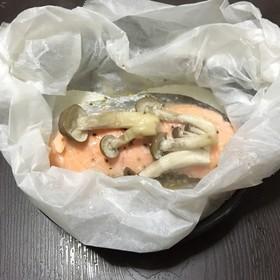 塩鮭の包み蒸し