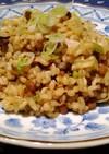 超簡単 納豆キムチ味 ひしお玄米炒飯