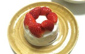 簡単10分☆離乳食中期~ショートケーキ♪