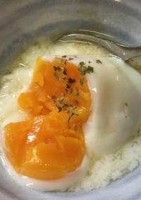 ☆温泉卵器で温泉玉子☆糖質制限&低AGE