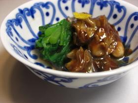 ササッとかきの味噌煮