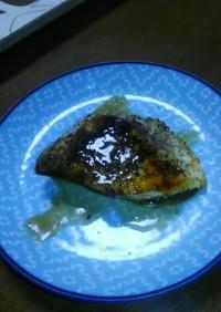 カジキのハーブ焼き~レモンバターソース~