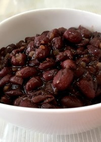 圧力鍋で♡時短♡簡単小豆の煮方