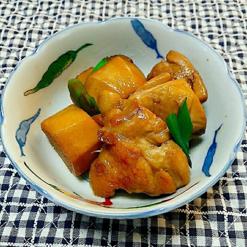【時短】里芋と若鶏の照り煮