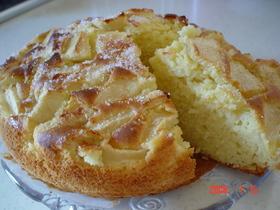 クリームチーズのふわふわパウンドケーキ