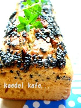 ●黒ゴマ&きなこ&黒蜜 パウンドケーキ●
