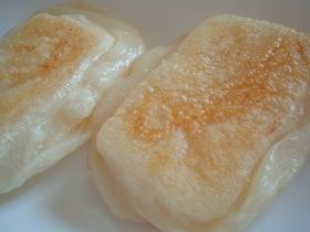 外はカリッ中はもっちり簡単バター餅☆