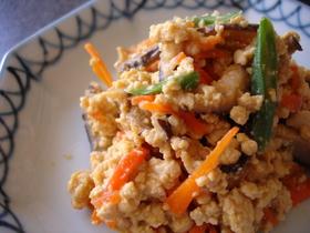 ✿ごはんもりもり✿おかずになる✿いり豆腐