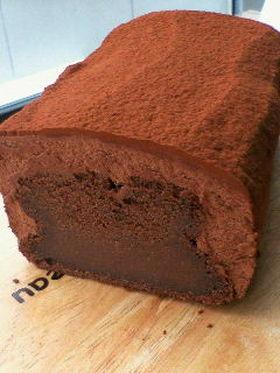 バレンタイン☆とろっとチョコレートケーキ