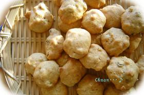 子供と作る簡単バターなしクッキー♪