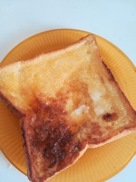 洗い物要らずの簡単フレンチトースト