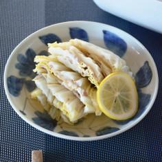 豚と白菜のレモン煮【レンジで9分50秒】