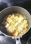 厚揚げと白菜のトロトロ煮