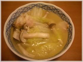 白菜とベーコンのコンソメ煮