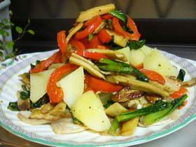 豚とお野菜の柚子コショーミルフィーユ