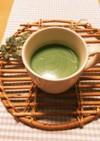 美肌レシピ!甘酒と青汁と牛乳で抹茶ラテ