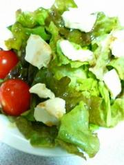クリームチーズ入り野菜サラダ☆の写真