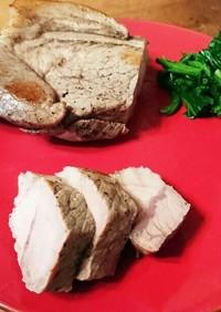袋で作る手軽なフランス料理豚肉のコンフィ