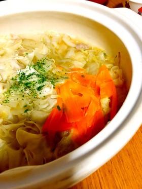 ぽかぽか生姜鍋