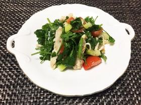 パクチーとセロリのデトックスサラダ
