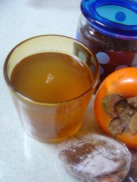 ☆ 黒酢と干し柿のサワードリンク