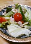 シーフードと野菜のマリネ