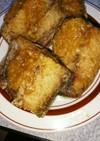 鯖の唐揚げ。生姜味噌ダレ2。