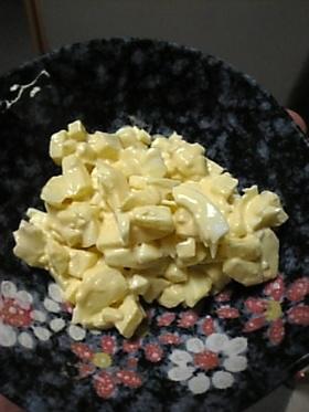 美味しいよ♪卵とリンゴのサラダ^0^♪